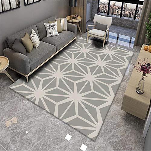 Mobiliario para El Hogar Moderno Geométrico Nórdico Sala De Estar Alfombra Sofá Manta Dormitorio Mesita De Noche Manta Rectangular 50x80cm