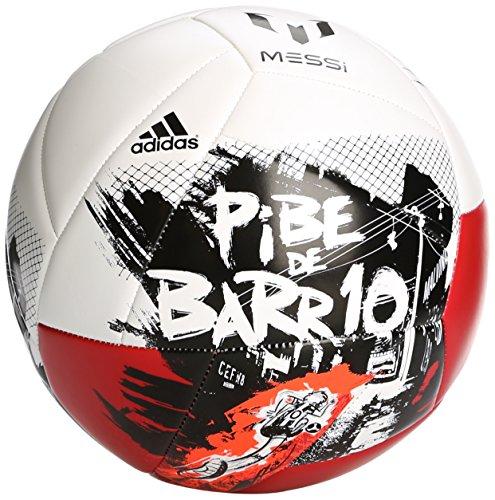 adidas Fußball Messi 10 Q2 - Balón de fútbol de competición, Color Negro, Talla 5