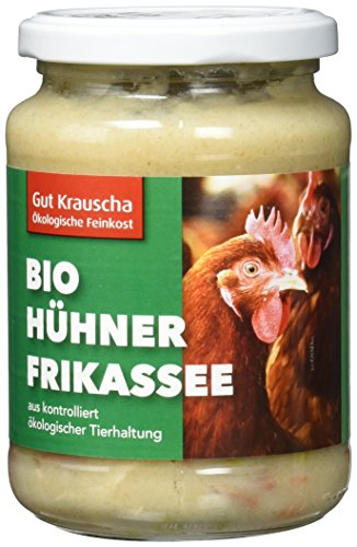 Gut Krauscha Bio Hühnerfrikassee, 320 g