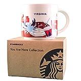Starbucks Coffee Mug - Virginia You Are Here Collection