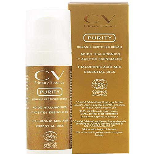 CV Primary Essence Crema Purity con ácido hialurónico y aceites esenciales 50 ml