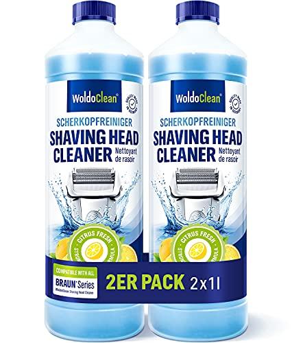 Limpiador de cabezales de afeitado para cartucho compatible con Braun – Afeitadora...