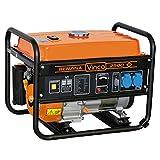 VINCO 60128 Generatore di Corrente, 2.2 Kw, Nero, 60x43x46 cm...