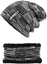 UMarsDeal Winter Hats Skullies Beanies Hat Adjustable Snapback Baseball Hat&Cap BMW Black