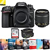 Nikon D7500 20.9MP DX-Format 4K Ultra HD Digital SLR Camera (Body Only) (Renewed) with 16GB Deluxe Lens Bundle