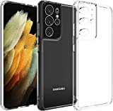 **Samsung Galaxy S21 Ultra**?Simple but not normal. We've adopted TPU(Bayer) material and a perfect new design for that minimizes bulk and maximizes portability. Keeps your phone and case looking brand new. ?ALL-ROUND PROTECTION?Includes 4-side prote...