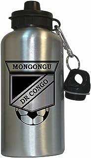 Cedric Mongongu (DR Congo) Soccer Water Bottle Silver