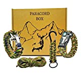 Pulsera supervivencia paracord 550 kit de supervivencia accesorios | Survival kit supervivencia...