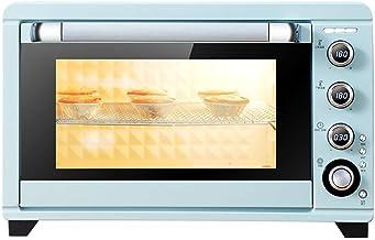 Encimera horno tostador, 3 de seis pulgadas de la torta |Temperatura de control independiente del Alto y Bajo Tubos |Aire caliente y Tenedor |2000W