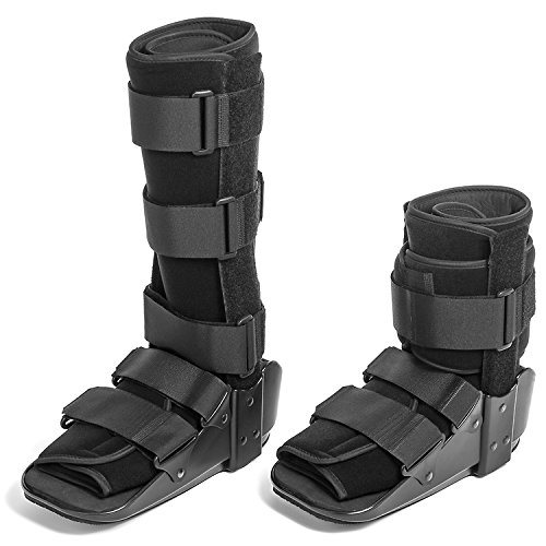 CoreLINE Fixed Cam Fracture Walker Boot with Metal Uprights for Sprains and Fractures (Short - Medium)