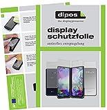 dipos I Schutzfolie matt kompatibel mit LG G8X ThinQ Dual Screen Bildschirmschutz-Folie