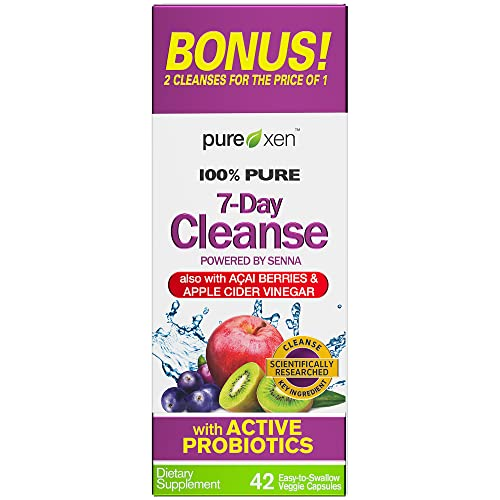 Detox Cleanse | Purely Inspired 7 Day Cleanse and Detox Pills | Acai...