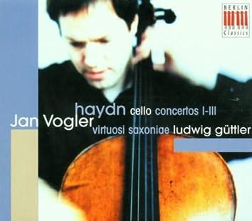 Haydn: Cello Concertos I-III