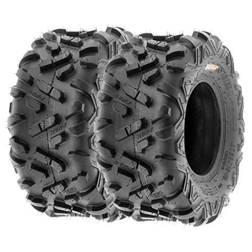 SunF 18x9.5-8 18x9.5x8 ATV UTV Tires 6 PR Tubeless A051 POWER II [Set of 2]