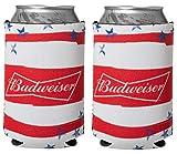 Officially Licensed Budweiser Drink Can Holder Neoprene Beer Huggie Cooler Sleeve (2)