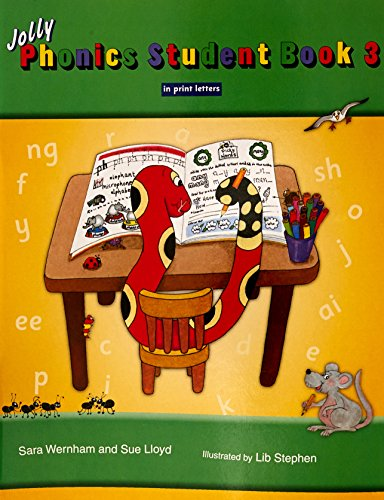 Jolly Phonics Student Book 3 Colour In Print Letters