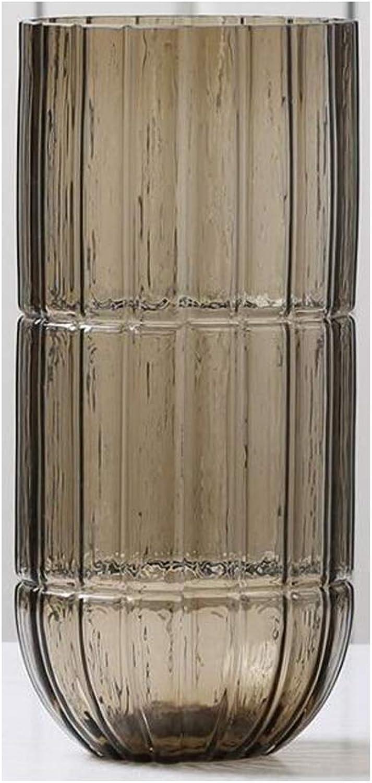 Vase en Verre Plante De Salon Vase Décoration Vase Plante Hydroponique Bcourir SHWSM (Taille   13.3cm×27.5cm)