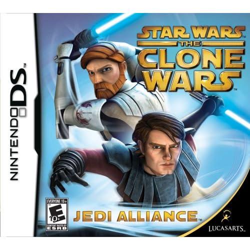 Amazoncom Star Wars The Clone Wars Jedi Alliance Nintendo Ds