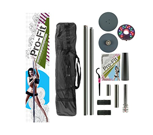 PRO FIT Professional Portable Spinning Dance Pole