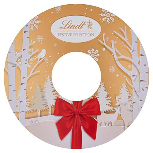Lindt Selection of Teddy Gold Truffle Chocolates Tin - for Lovers, Valentine, Mother's Day, Birthday, Anniversary - 400g