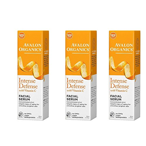 Avalon Organics Vitamin C Renewal Vitality Facial Serum