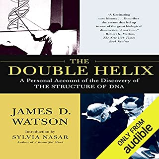 The Double Helix      A Personal Account of the Discovery of the Structure of DNA               De :                                                                                                                                 James D. Watson                               Lu par :                                                                                                                                 Grover Gardner,                                                                                        Roger Clark                      Durée : 4 h et 8 min     Pas de notations     Global 0,0