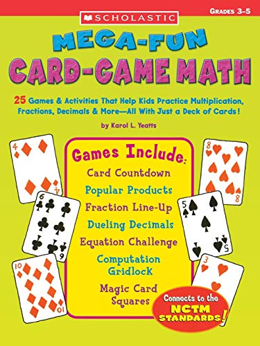 Compare Textbook Prices for Mega-Fun Card-Game Math, Grades 3-5 Workbook Edition ISBN 0078073448555 by Karol L. Yeatts,Delana Bettoli