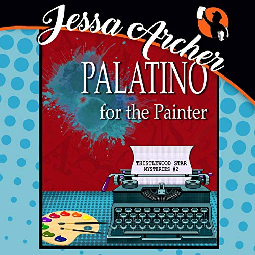 Palatino for the Painter audiobook cover art