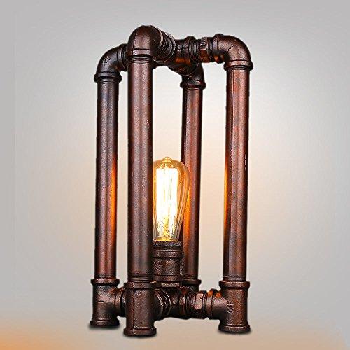VanMe 4 Lampe De Table Lampes Vintage Jambes Pipe À Eau Personnalisé Guirlandes De Table 24 Livre D'Éclairage Lampe Vintage