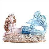OMEM アクアリウム オーナメント 家の装飾 かわいい人魚 水槽の美化 居間の飾り誕生日プレゼント (マーメイド B)