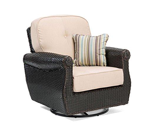 La-Z-Boy Outdoor ABRE-SRL-1PK-N Outdoor Chair, Natural Tan