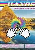 100 hojas A4 155 g/m² papel fotográfico profesional de doble cara brillante