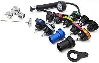 Romacci Kit de testador de compressão de pressão de radiador de 18 unidades, sistema de resfriamento e reparo de veículos,...