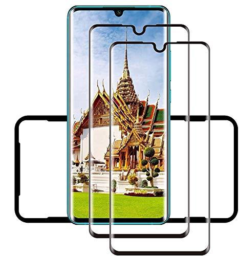 QINN Mi Note 10/Mi Note 10 Pro vetro temperato [2 PACK] [Durezza 9H] [Antigraffio] [Anti-Bubble] Vetro temperato per Xiaomi Mi Note 10 / Mi Note 10 Pro
