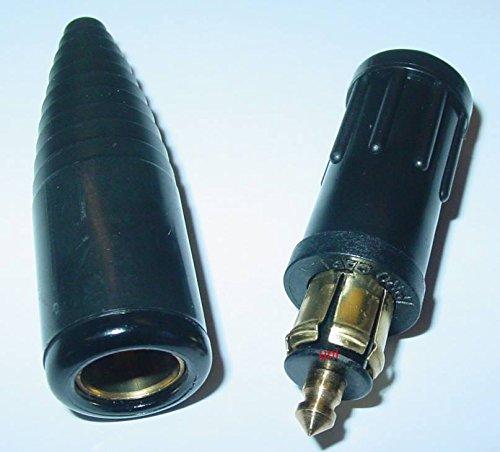 Uni Adapterset Bordspannungsstecker + Kupplung, DIN Normstecker 16A 12V-24V, D26