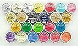 Full Set of 24 Rainbow Dust 100% Fully Edible Cake Sparkle Glitter Sugarcraft -