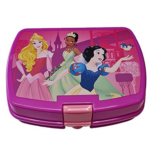 Boîte à sandwich pour école, infirmière, voyage (Princesses Disney)