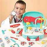 Wghz Kinder Ärzte Kit Pretend Ärzte Kit Spielzeug Krankenschwester Spielset Simulation Arzt Anzug...