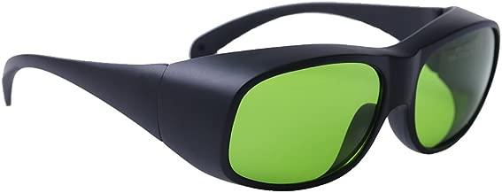 LP-LaserPair Laser Glasses 800 – 1100nm Absorption Type of Laser Protective Glasses Diode, Nd:yag Laser Protection Glasses Multi Wavelength 808nm, 980nm, 1064nm, Laser Safety Glasses