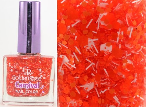 GOLDEN ROSE - Vernis Ongles Collection Carnival - 10