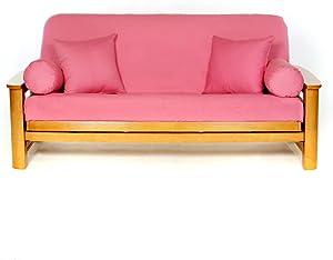 Lifestyle Covers Roseblush Matching Bolster Pillow