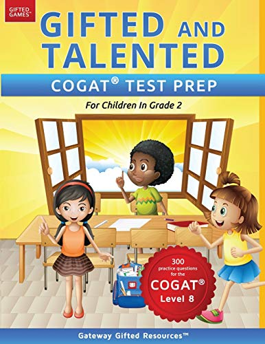 Gifted and Talented COGAT Test Prep Grade 2: Gifted Test...