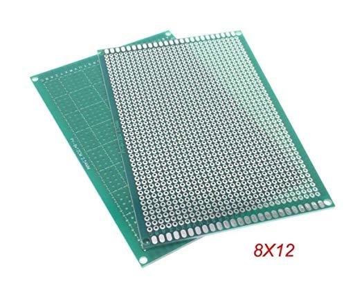 NO LOGO 1pc 8x12cm 80x120 mm Placa de Circuito PCB Prototipo Lateral Universal Impreso Individual Protoboard for Arduino
