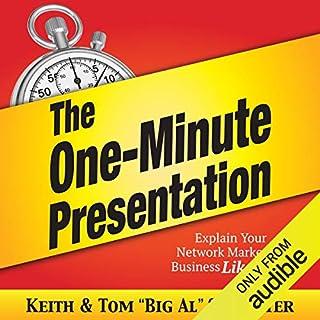 The One-Minute Presentation Titelbild