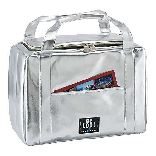 BeCool City Sac Isotherme Mixte Adulte, Argent