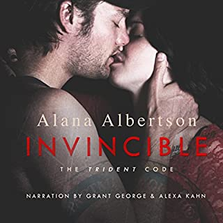 Invincible     The Trident Code, Book 1              By:                                                                                                                                 Alana Albertson                               Narrated by:                                                                                                                                 Grant George,                                                                                        Alexa Kahn                      Length: 6 hrs and 3 mins     121 ratings     Overall 4.3
