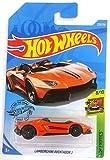 Mattel Hot Wheels 2019 Lamborghini Aventador J HW Exotics Orange 223/250, Long Card