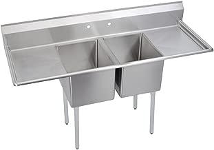E-Series 2-Compartment Sink, (2) 18