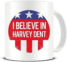 I Believe in Harvey Dent - Gotham District Attorney Campaign - The Dark Knight - Ceramic Coffee Mug - Tea Mug - Great Gift Idea Funky NE Ltd