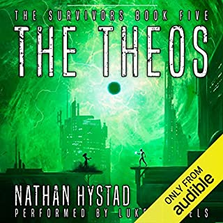 The Theos                   Auteur(s):                                                                                                                                 Nathan Hystad                               Narrateur(s):                                                                                                                                 Luke Daniels                      Durée: 7 h et 35 min     2 évaluations     Au global 4,5
